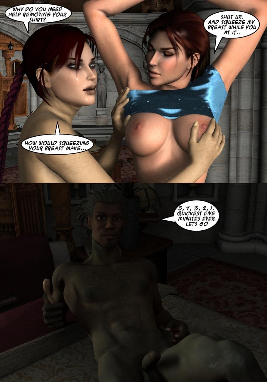 Lara-Croft-And-Doppelganger 23 free sex comic