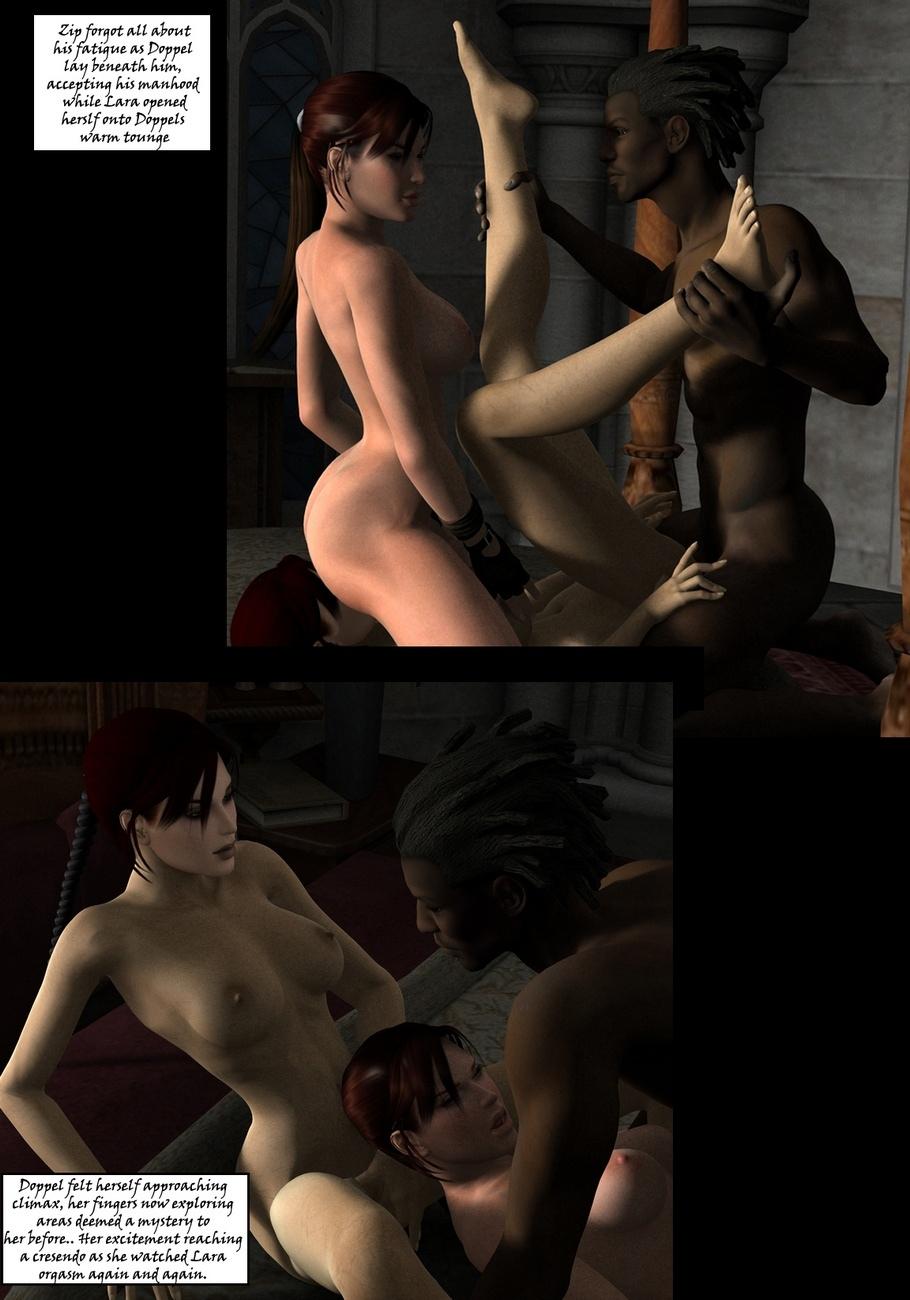 Lara-Croft-And-Doppelganger 24 free sex comic