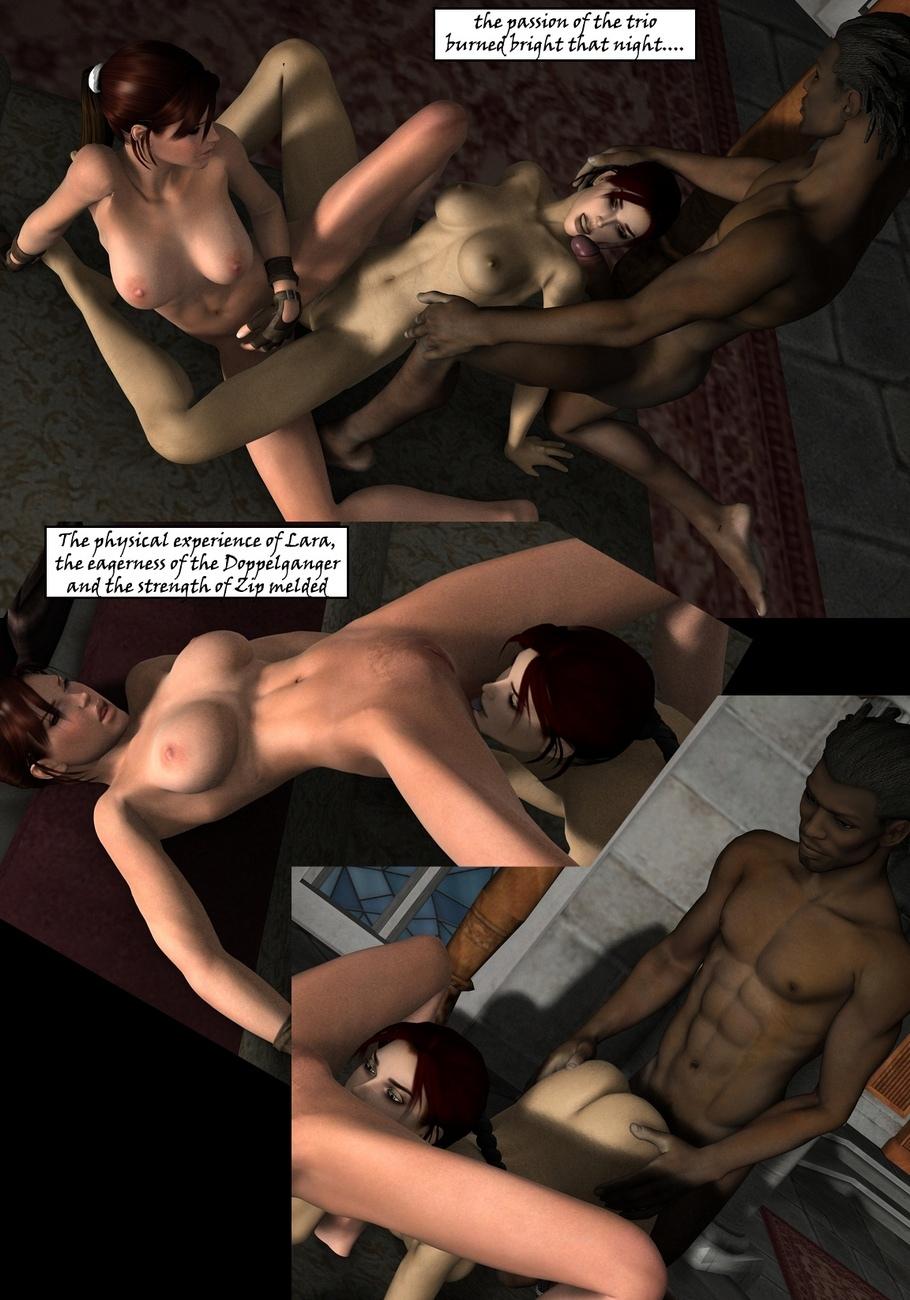 Lara-Croft-And-Doppelganger 25 free sex comic