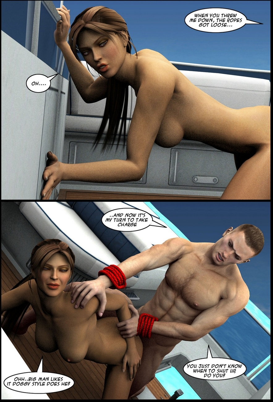 Lara-Croft-In-Ship 13 free sex comic