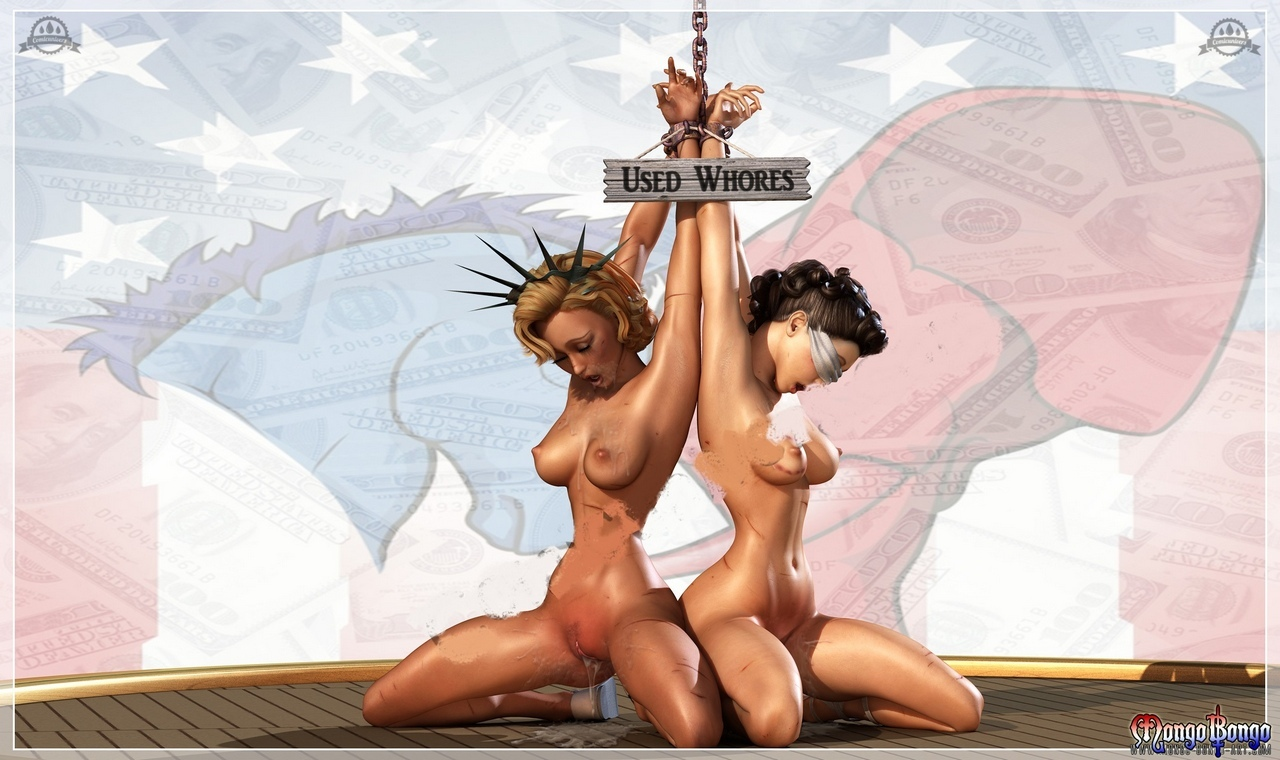 Liberty Justice – Election Year comic porn