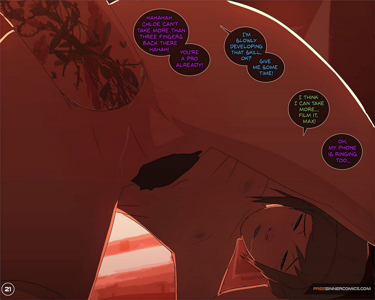 Life-Is-Strange 22 free sex comic