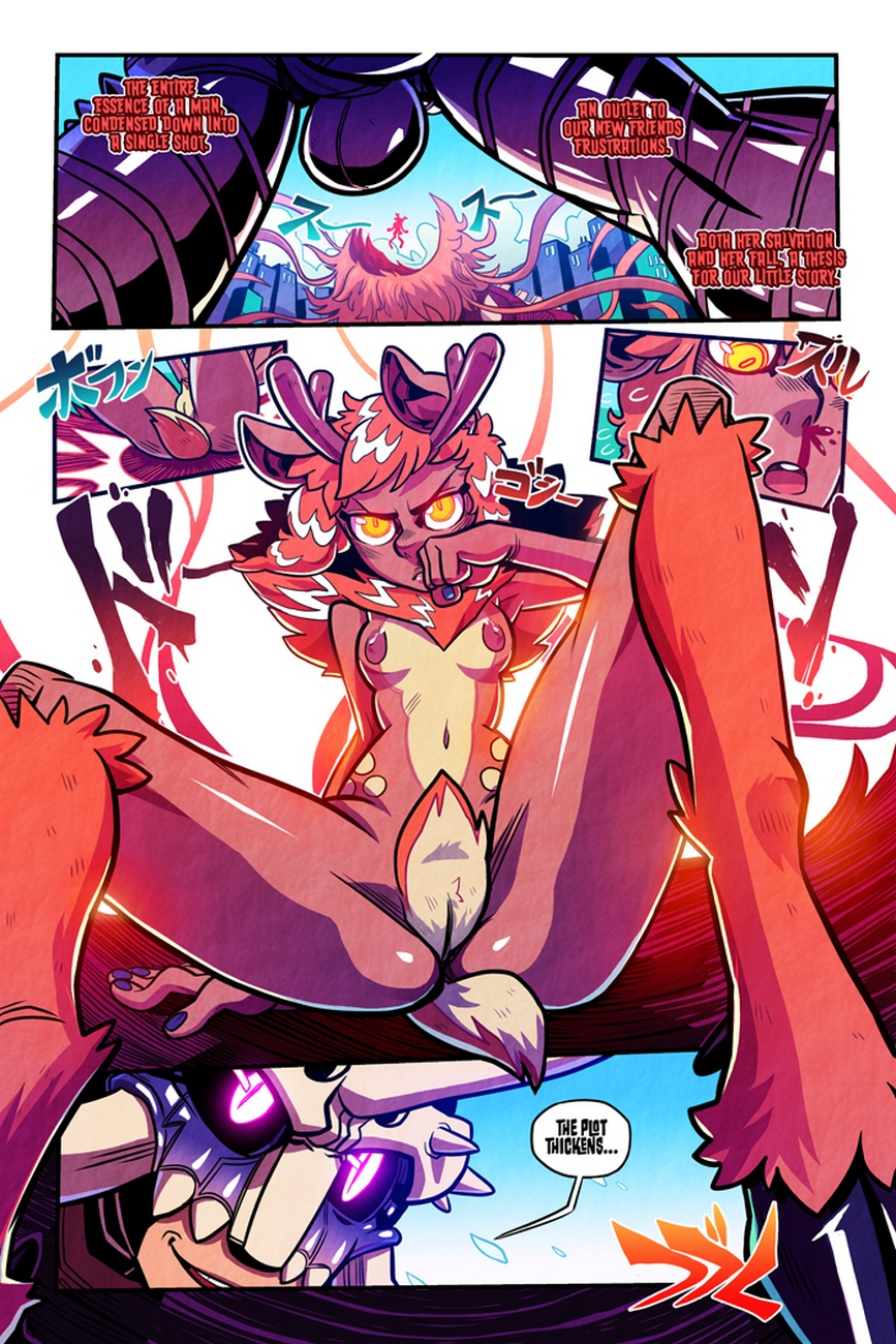 Love Gun 1 – Digital Devil Saga comic porn