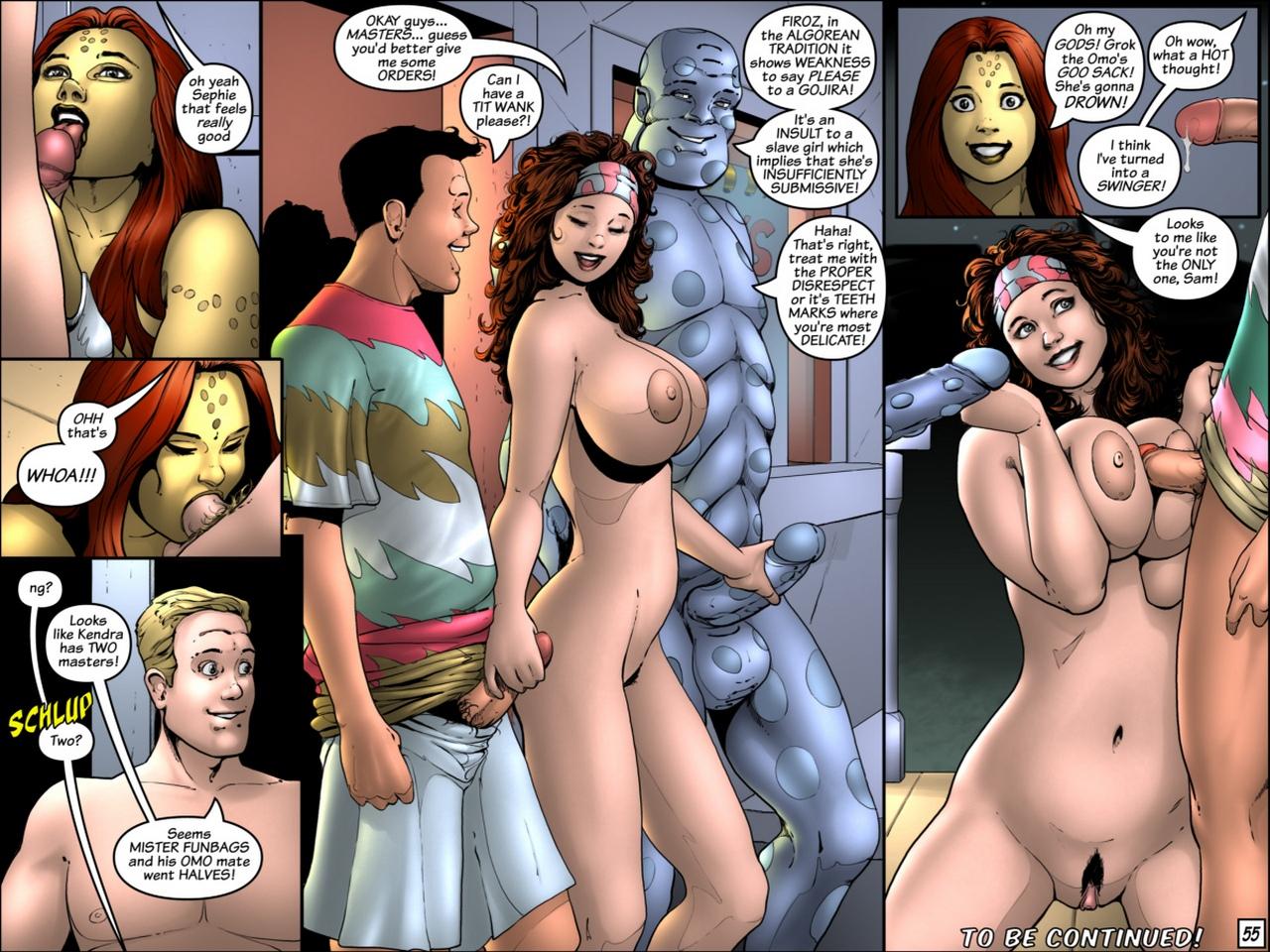 Lucy Lastique 76 comic porn