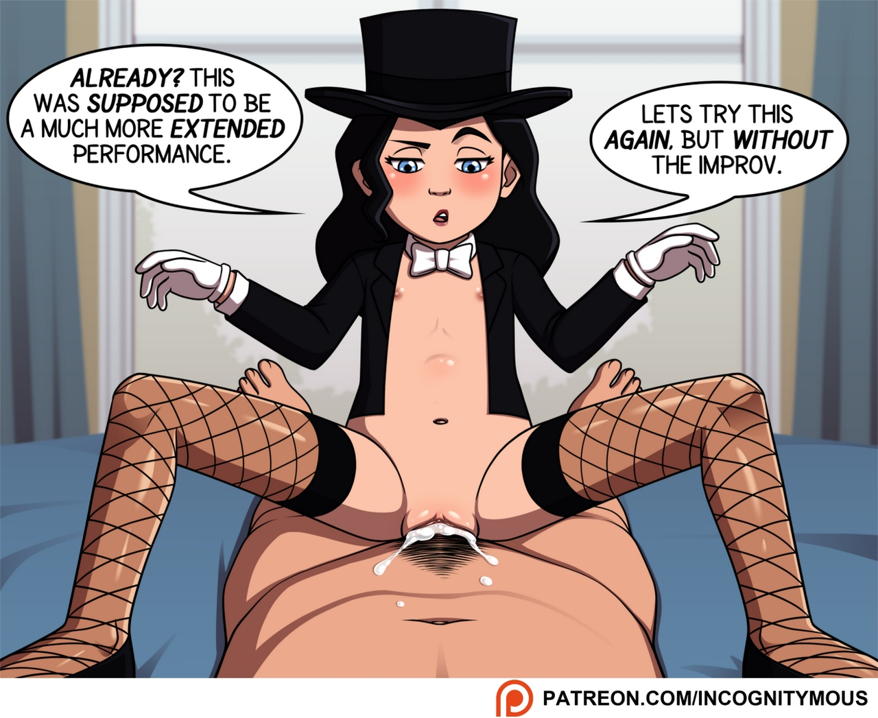 Magic Trick comic porn