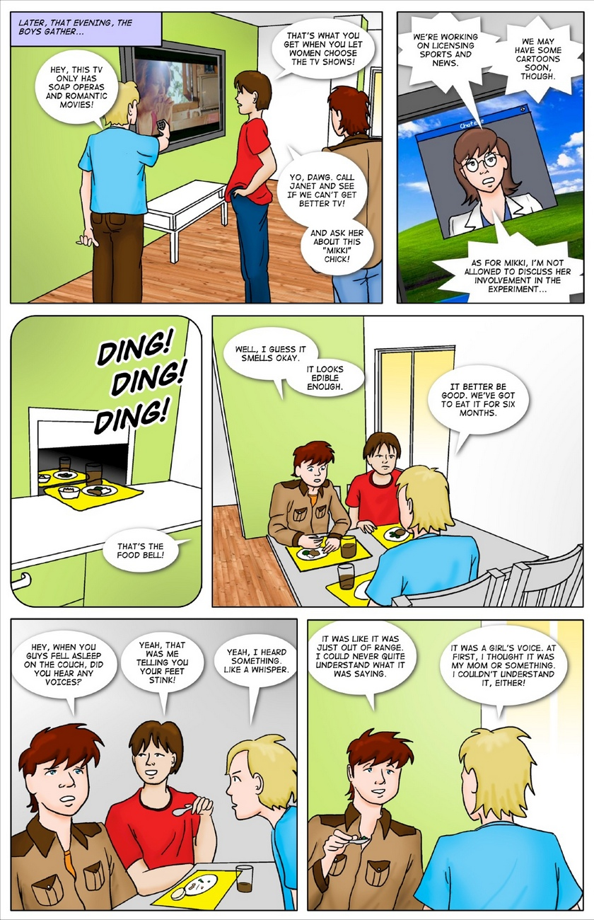 Making-Friends 5 free sex comic