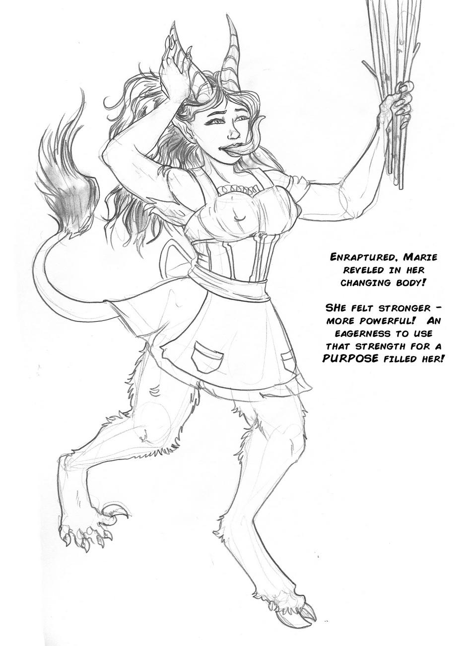Marie-Krampus-Origins 28 free sex comic