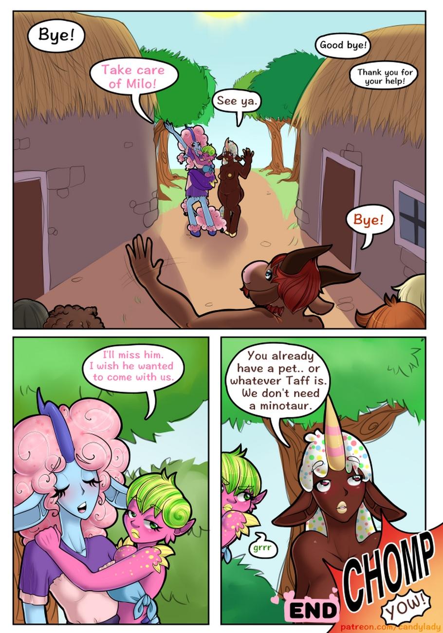 Milky Minotaur Madness comic porn
