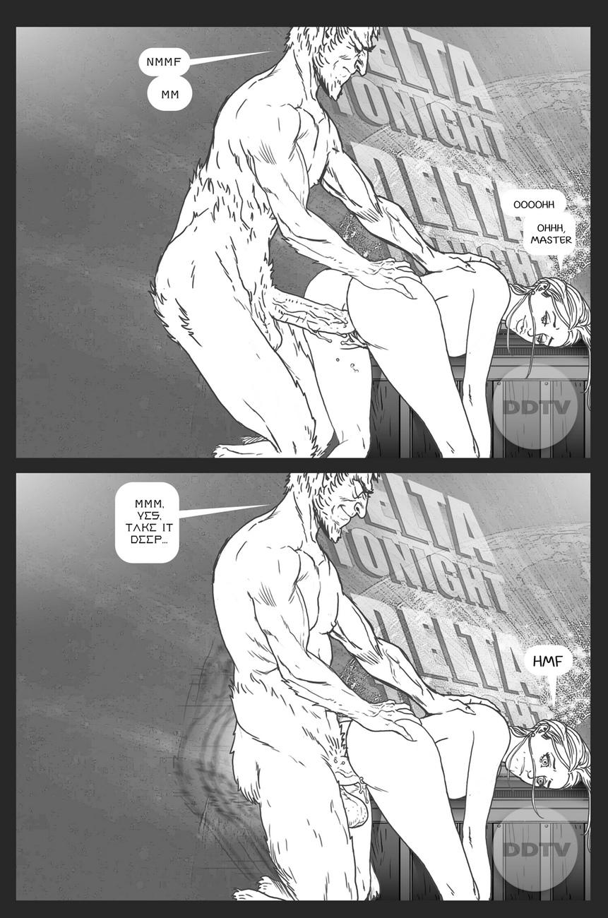 Ms-Americana-VS-The-Satyr 13 free sex comic
