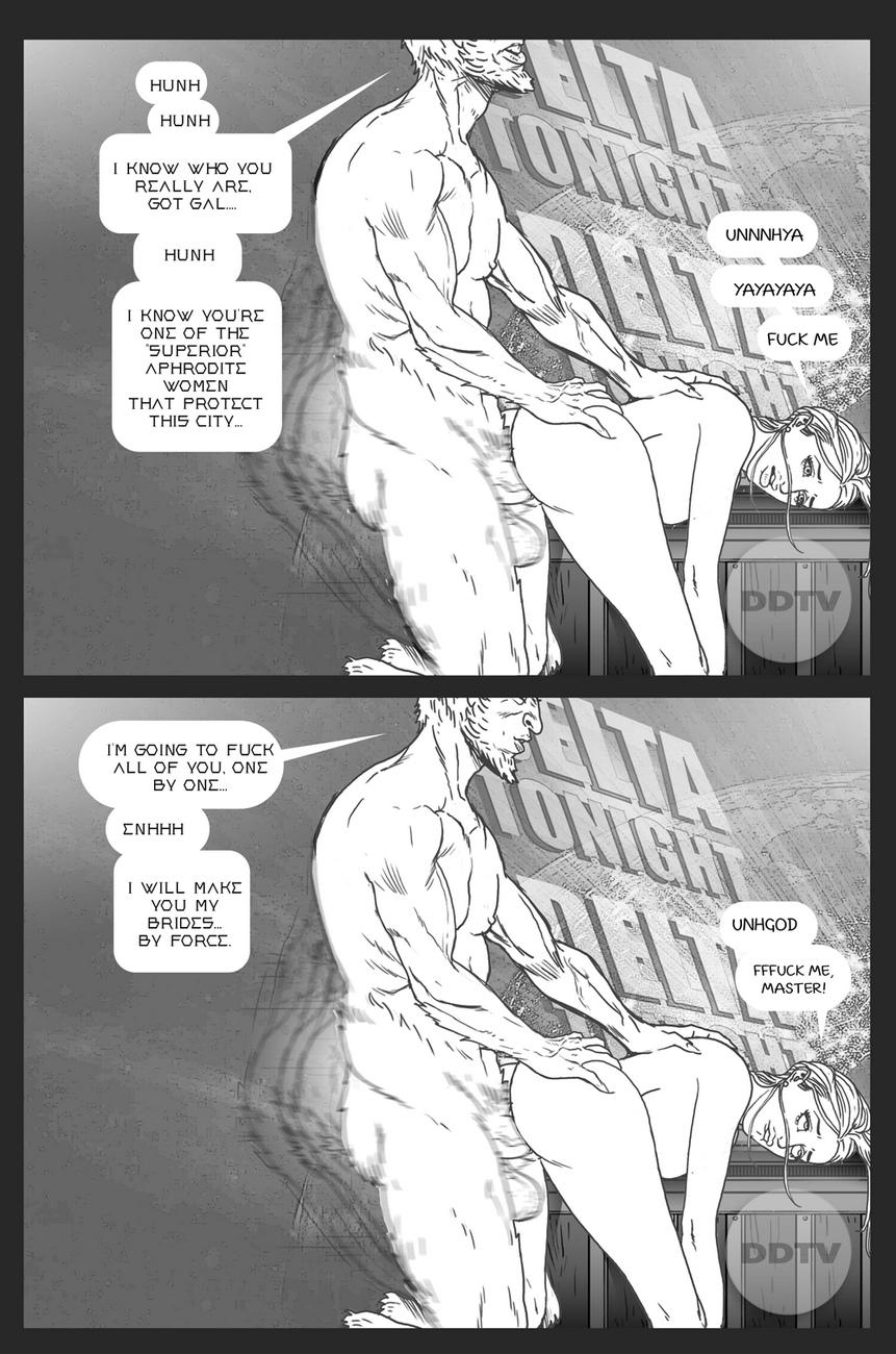 Ms-Americana-VS-The-Satyr 14 free sex comic