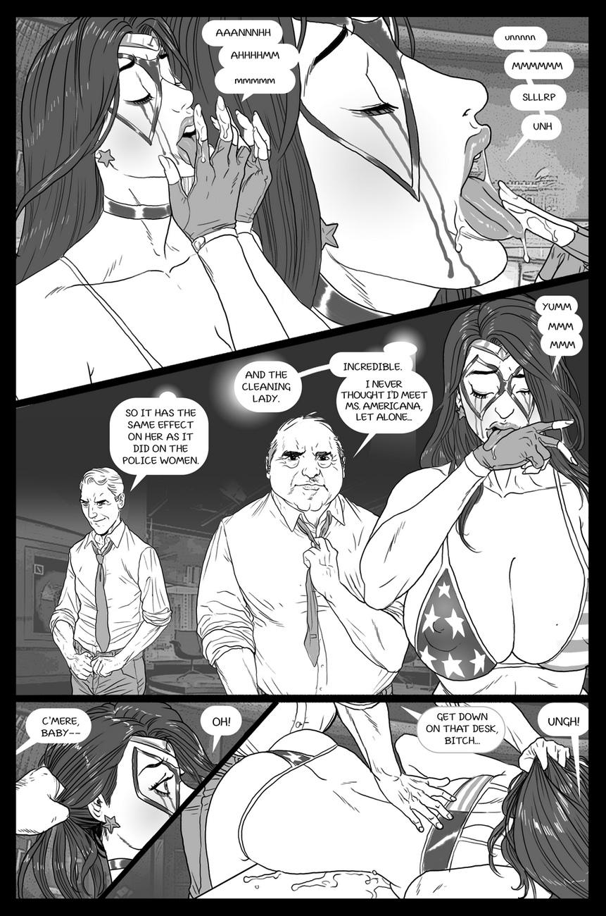 Ms-Americana-VS-The-Satyr 19 free sex comic