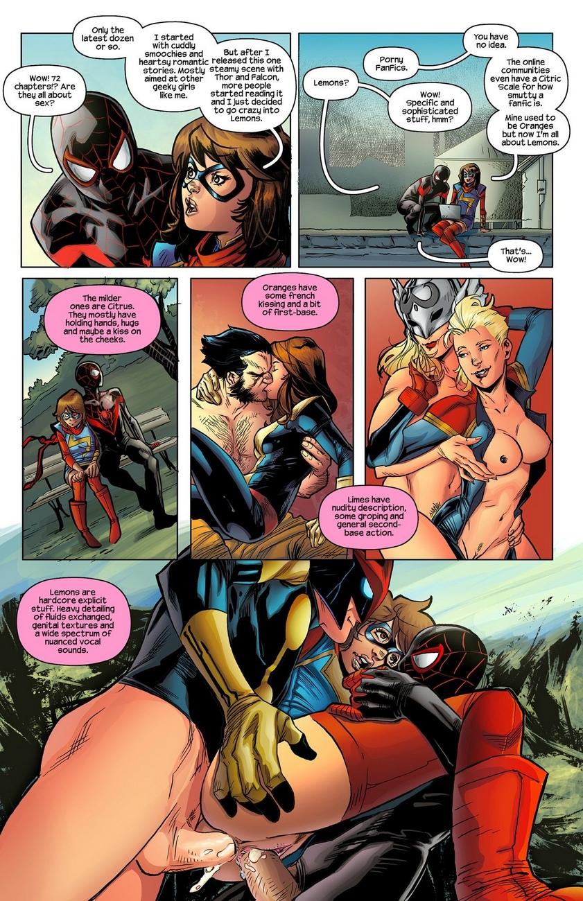 Ms-Marvel-Spider-Man 4 free sex comic