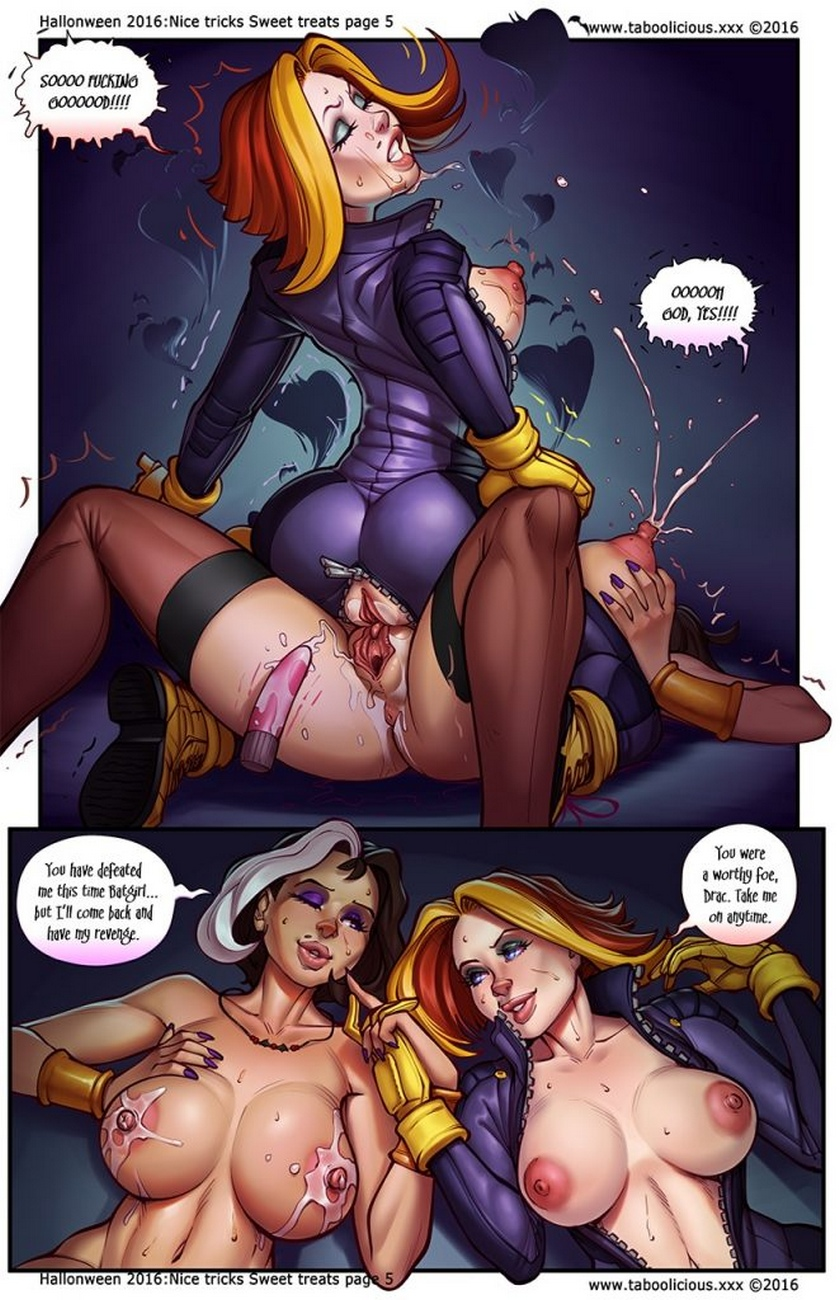 Nice Tricks Sweet Treats comic porn