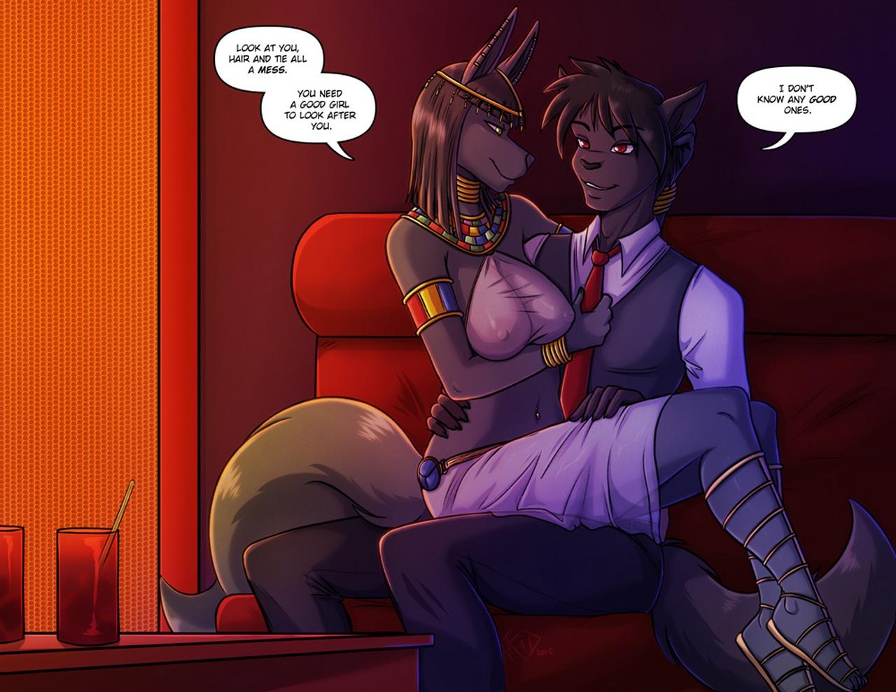 Night's Game comic porn