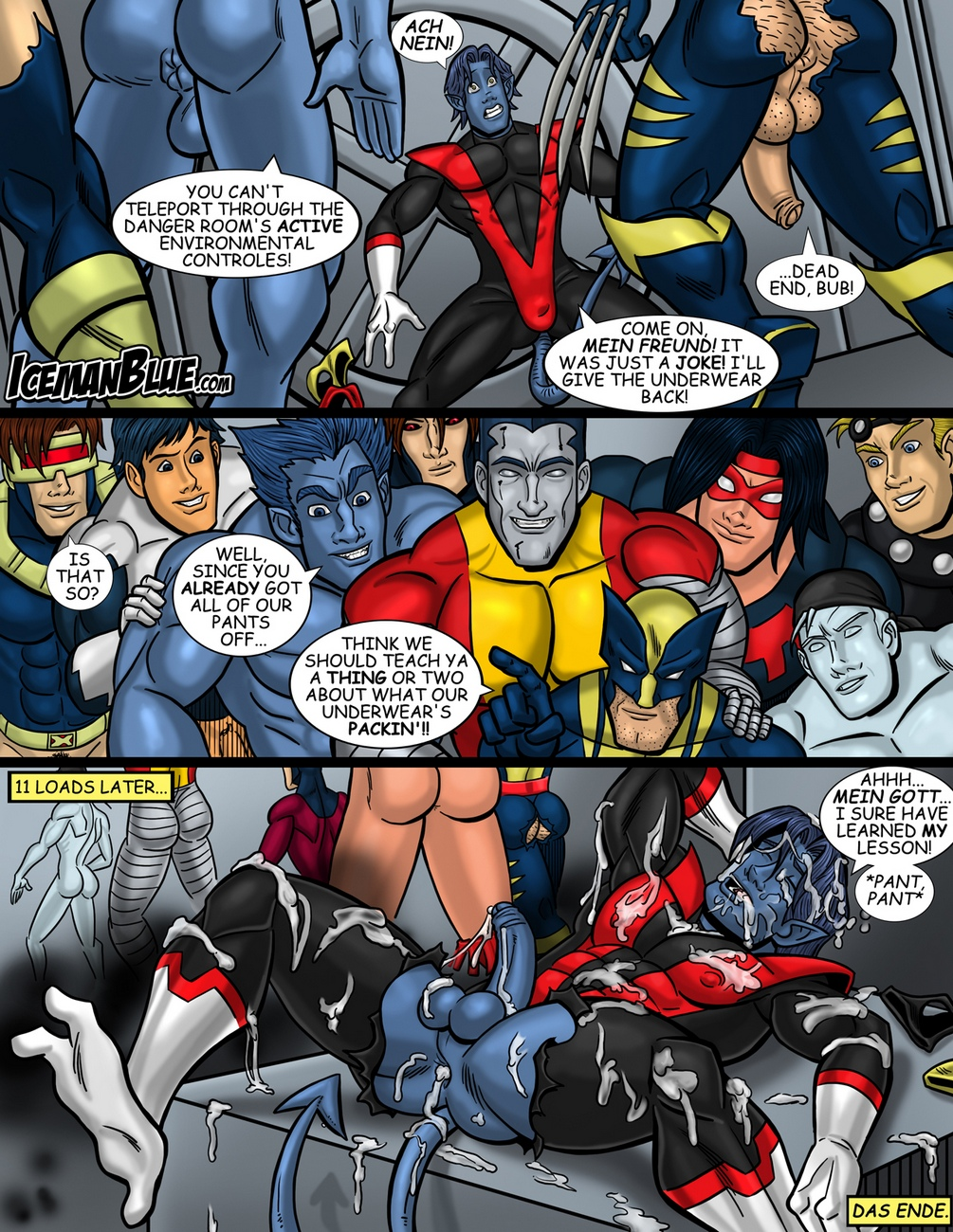 Nightcrawler 5 free sex comic