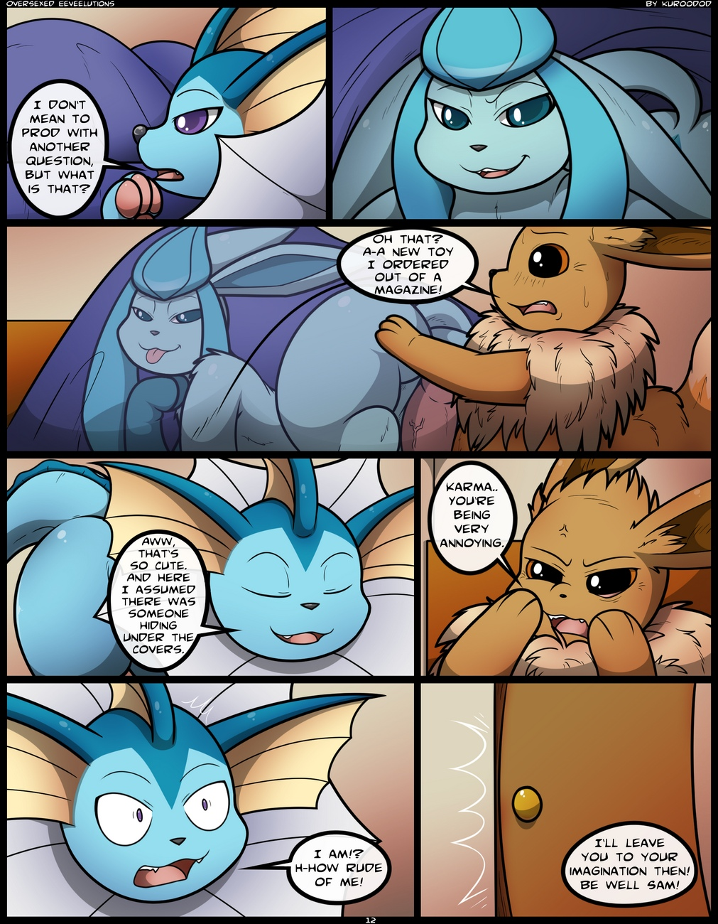 Oversexed-Eeveelutions-1 13 free sex comic