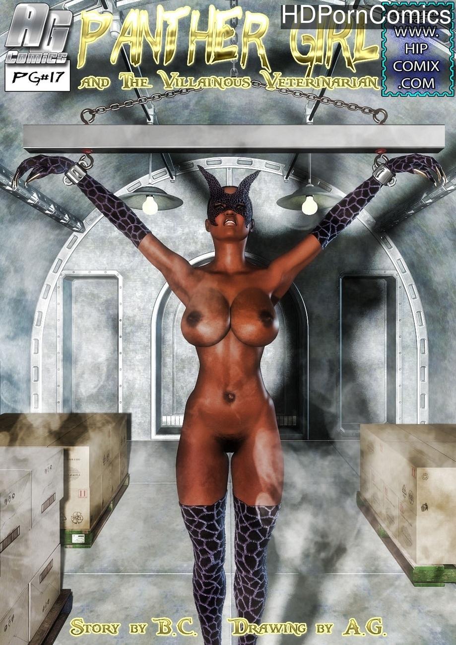 Panther Girl 17 comic porn