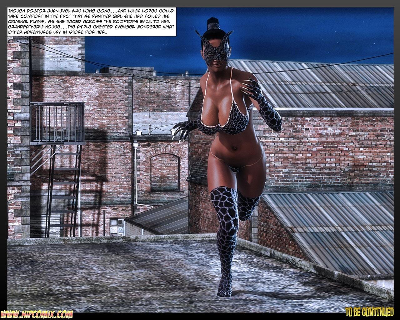 Panther Girl 18 comic porn