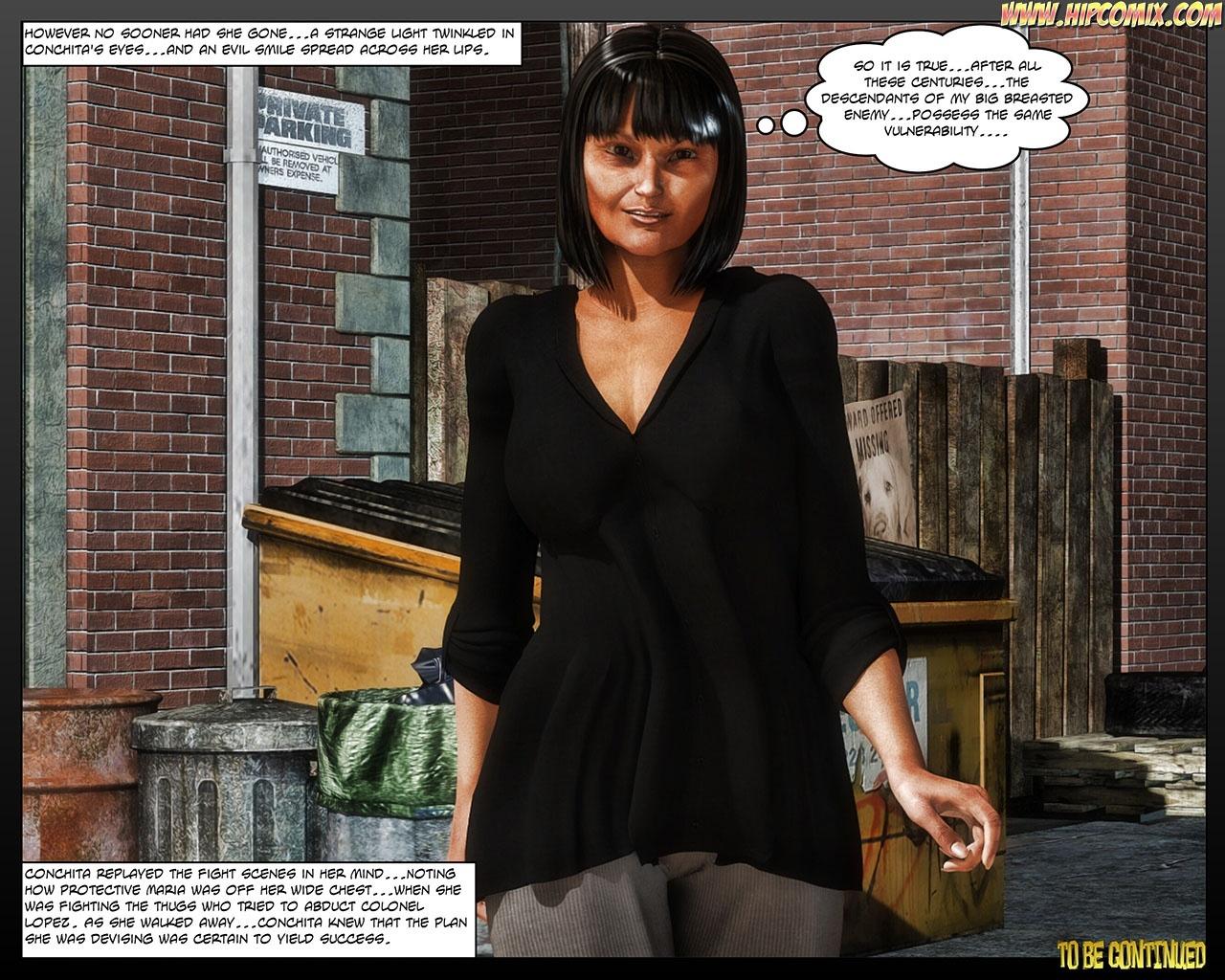 Panther Girl 21 comic porn