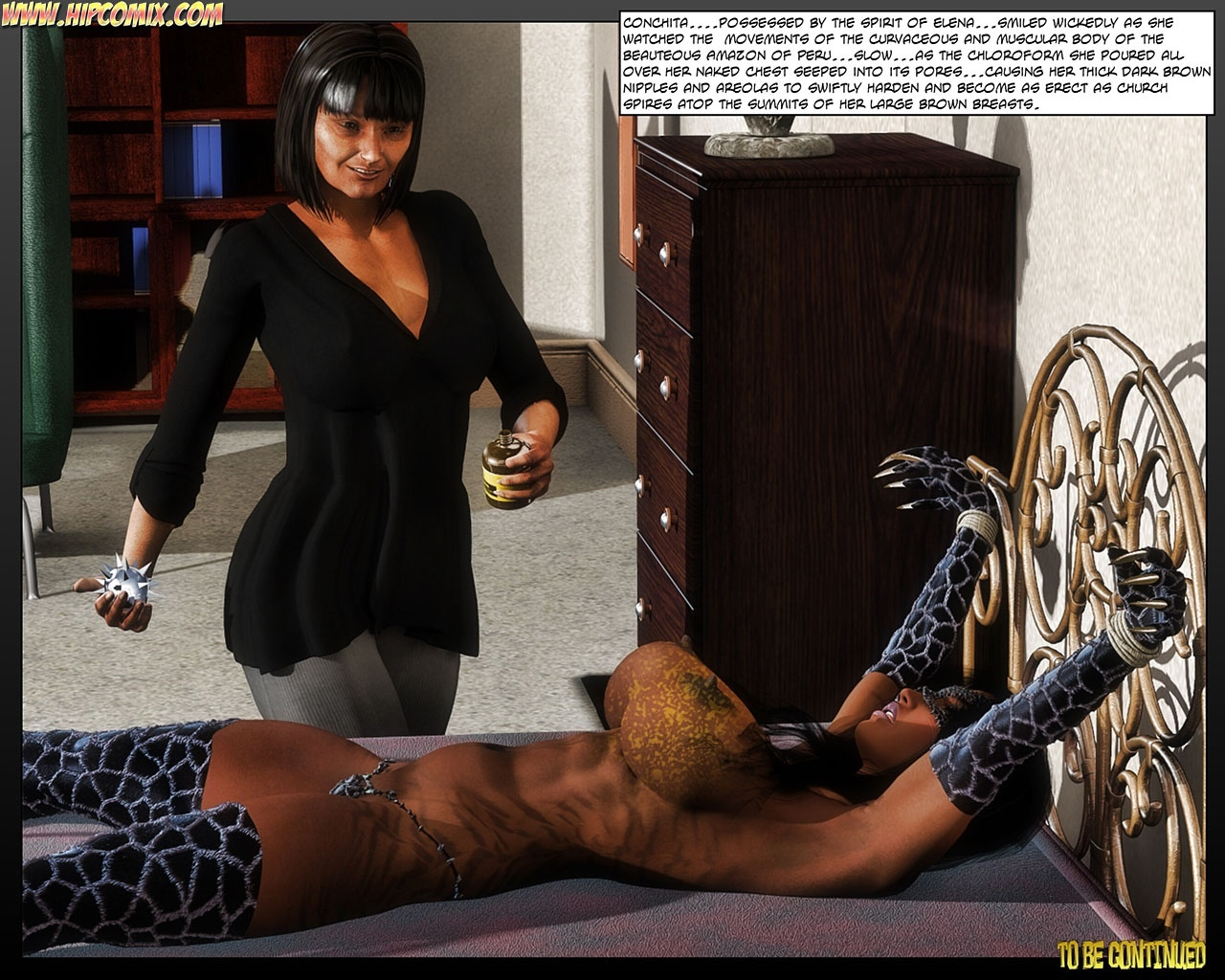 Panther Girl 24 comic porn