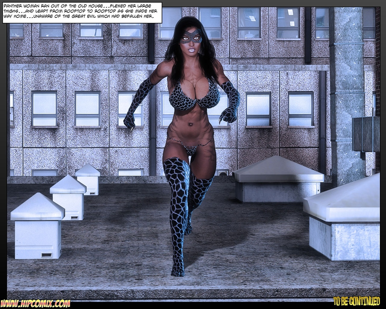 Panther Girl 26 comic porn