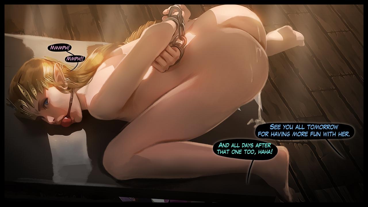 Princess Zelda 3 comic porn
