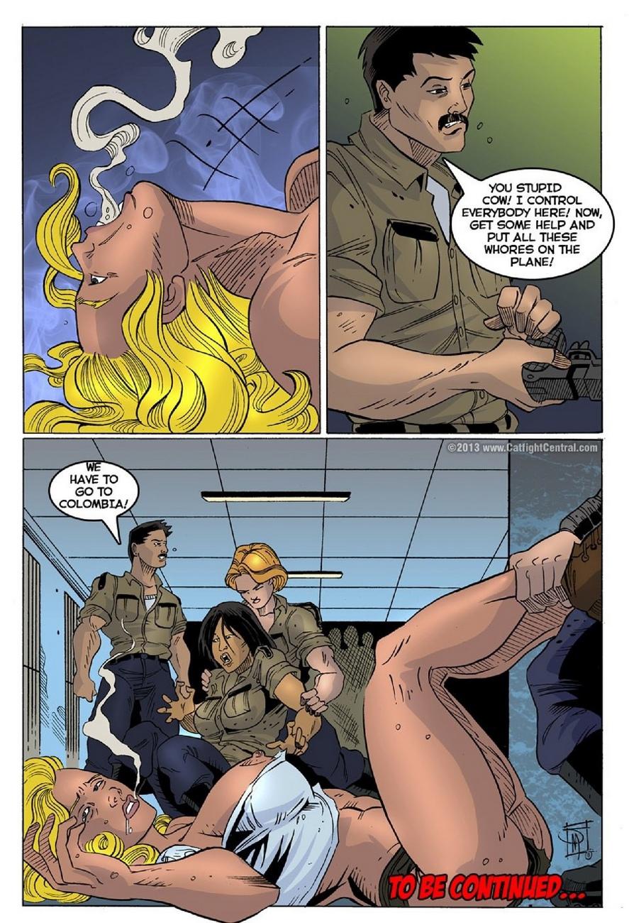 Prison Bitches 12 comic porn