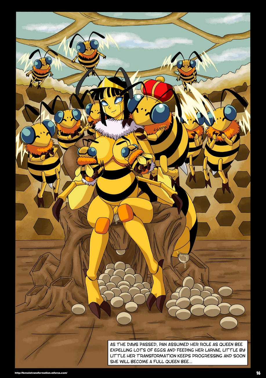 Queen Bee comic porn