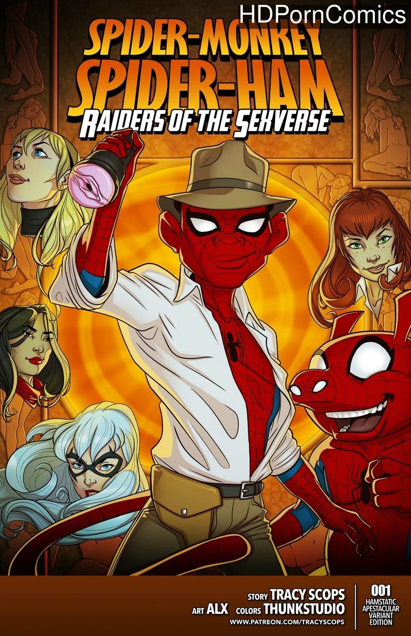Raiders Of The Sexverse comic porn