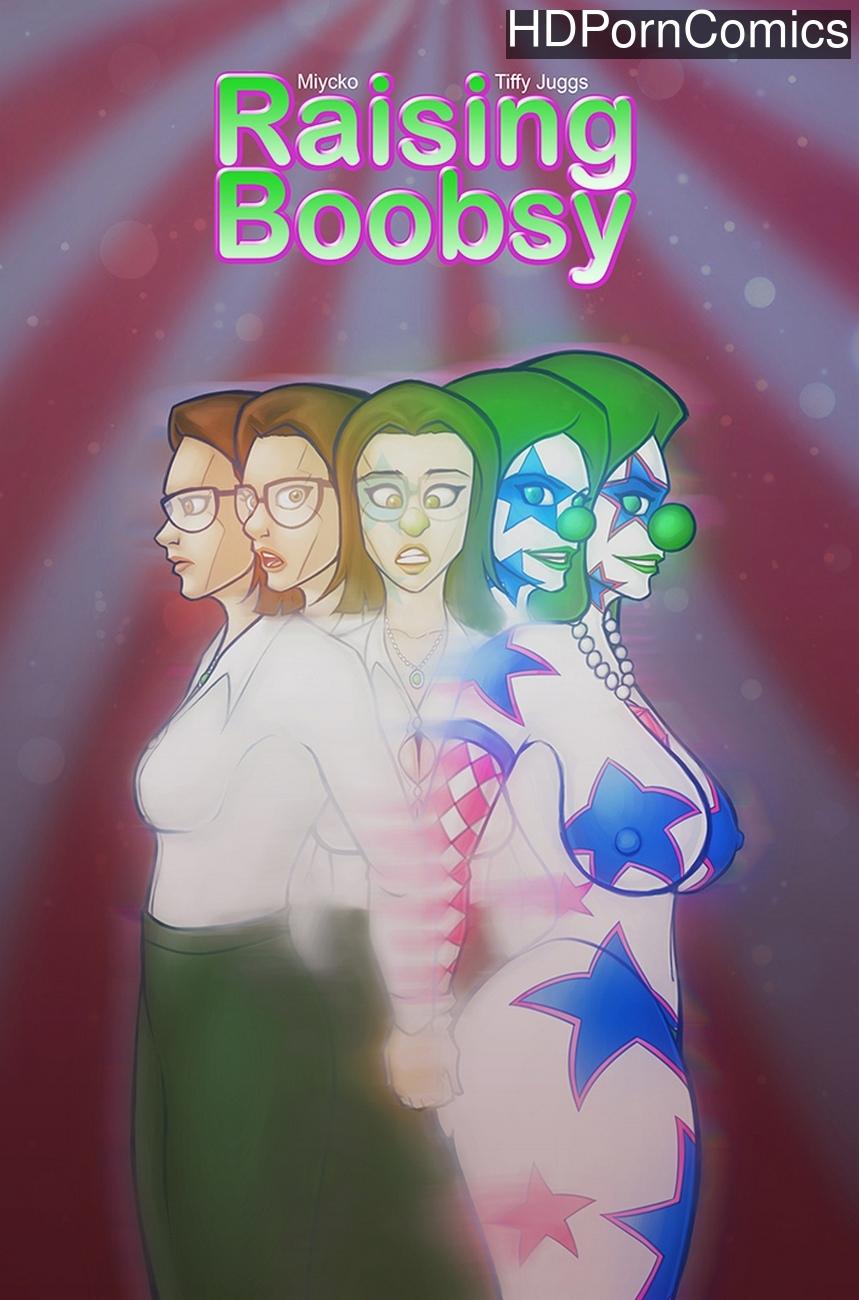Raising Boobsy comic porn