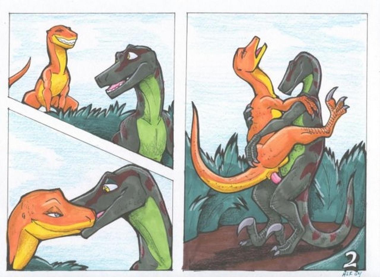 Как динозавров секс занимаются