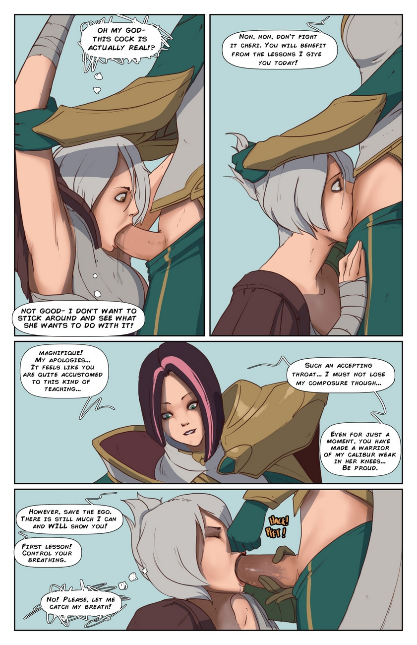 Riven-And-Fiora 3 free sex comic
