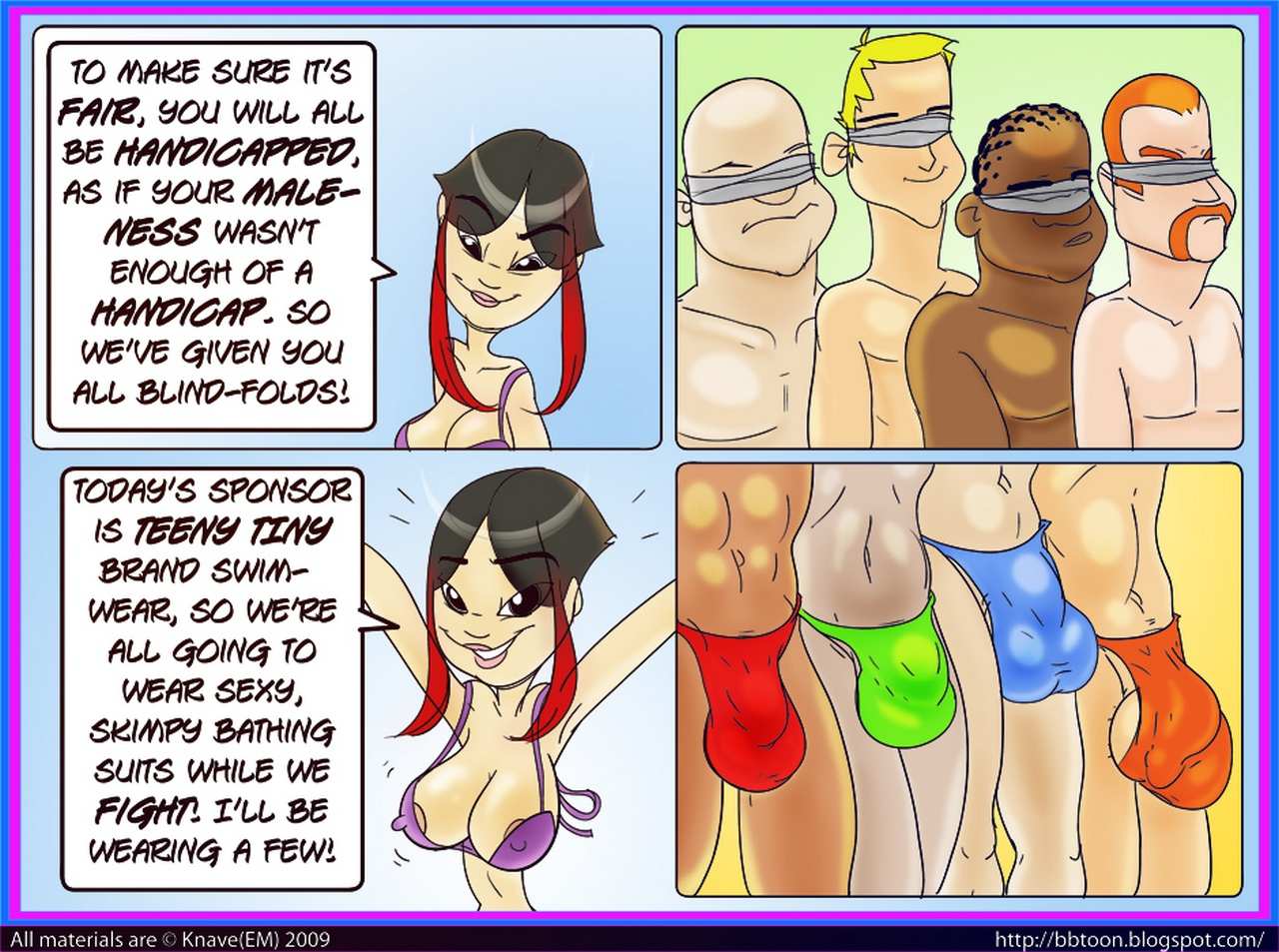 Rochambo 3 free sex comic