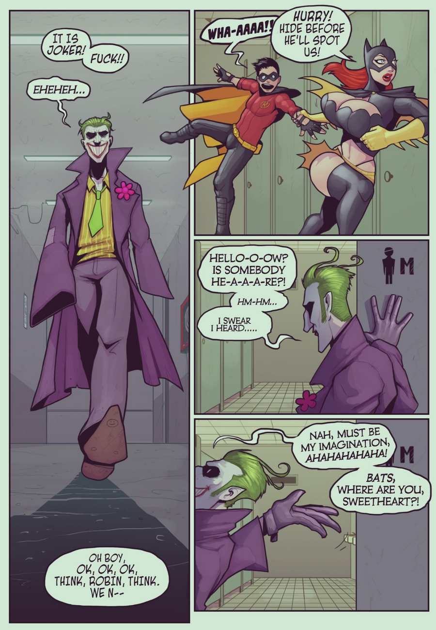 Ruined-Gotham-Batgirl-Loves-Robin 4 free sex comic