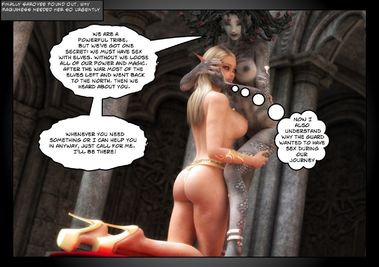 Saroyee-s-Quest-2-The-Queen-Of-Snakes 58 free sex comic