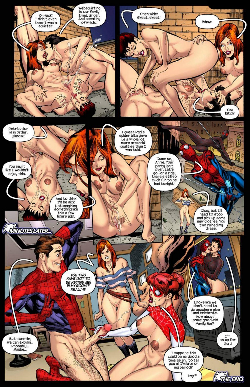 Scions – The Spidercest Legacy comic porn