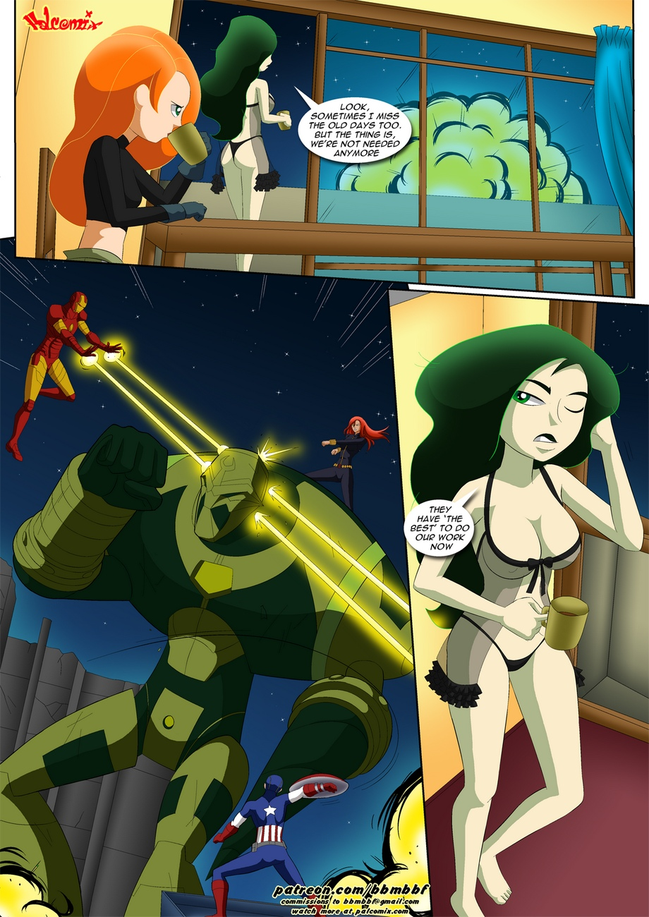 Shego-s-Pet 5 free sex comic