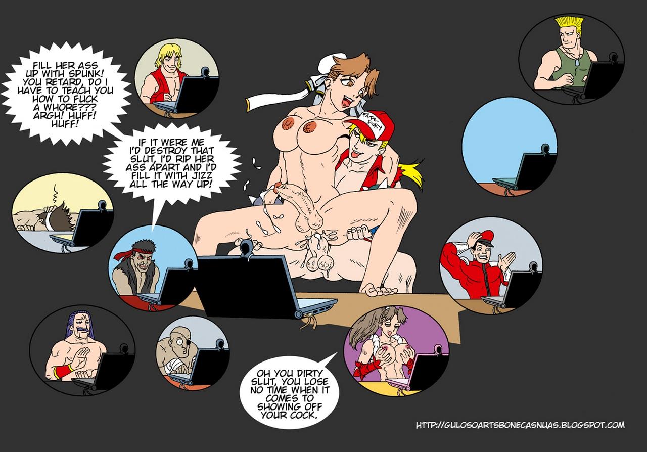 SNK-VS-Capcom 18 free sex comic