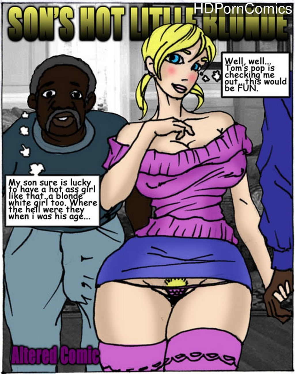 Son-s-Hot-Litlle-Blonde 1 free porn comics