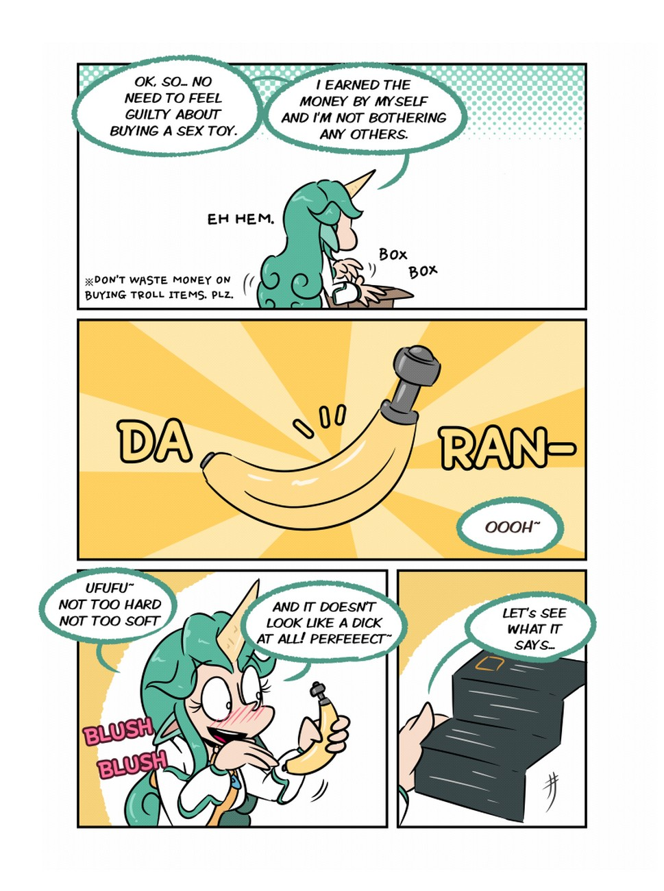 Bananas Porn Gay Money soraka and the void banana! comic porn - hd porn comics