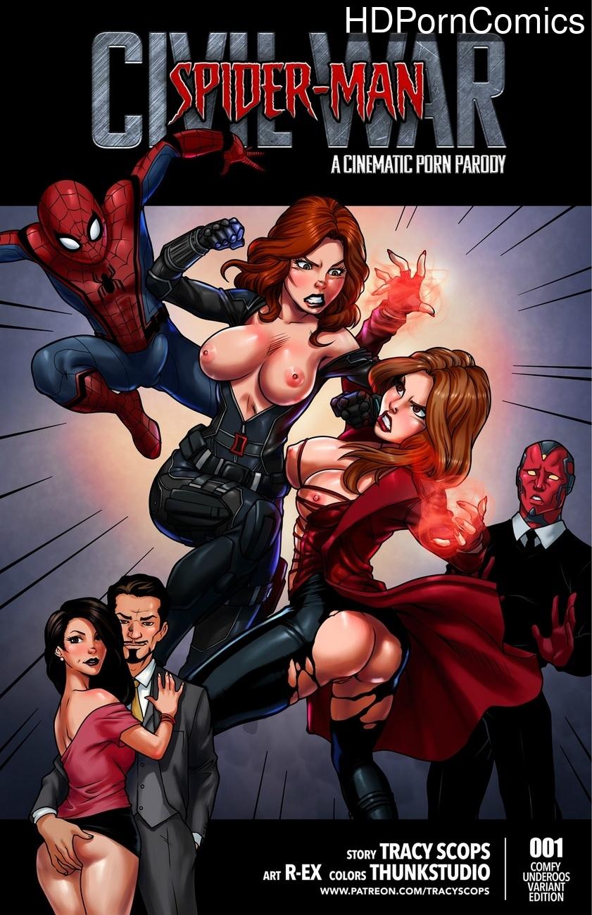 Spiderman-Civil-war 1 free porn comics