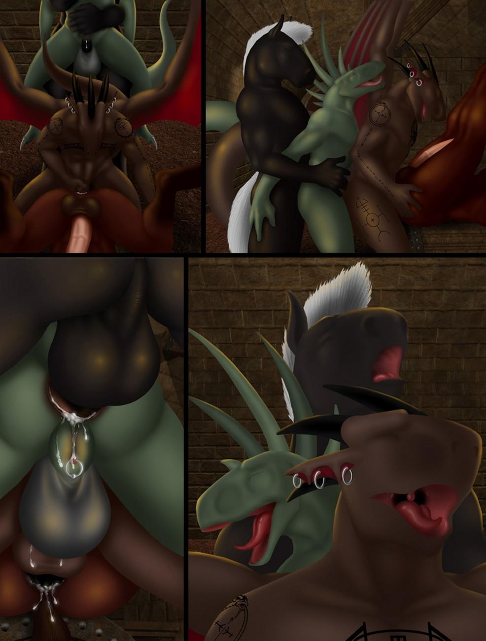 Динозавры Гей Порно Комикс