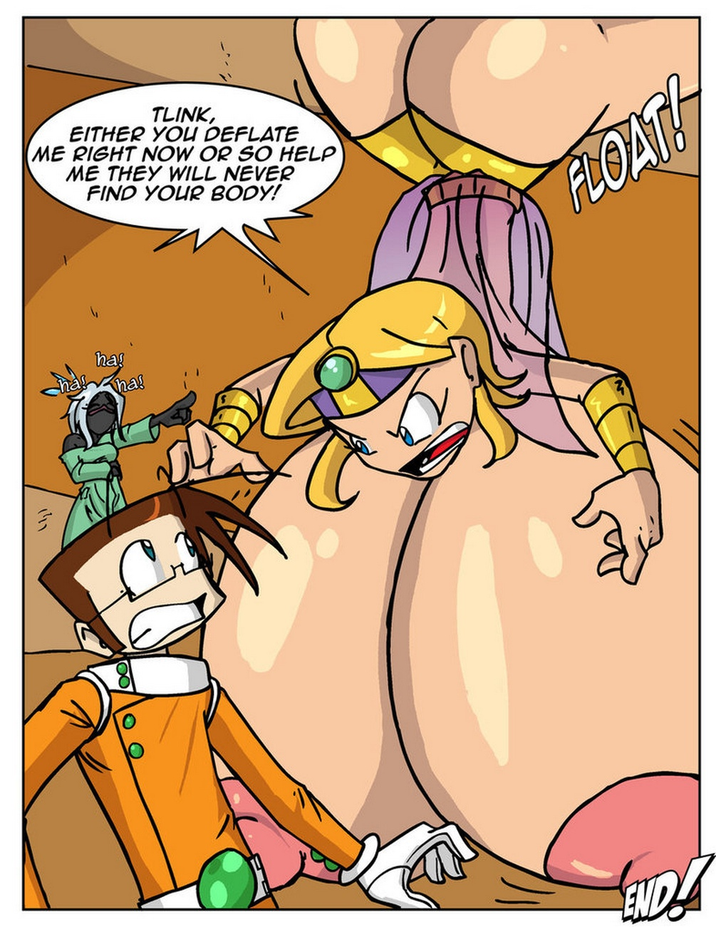 Stacky Goes To Mars comic porn