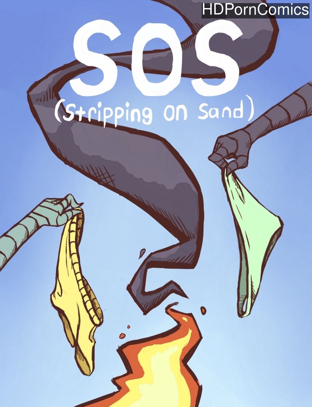 Stripping-On-Sand 1 free porn comics