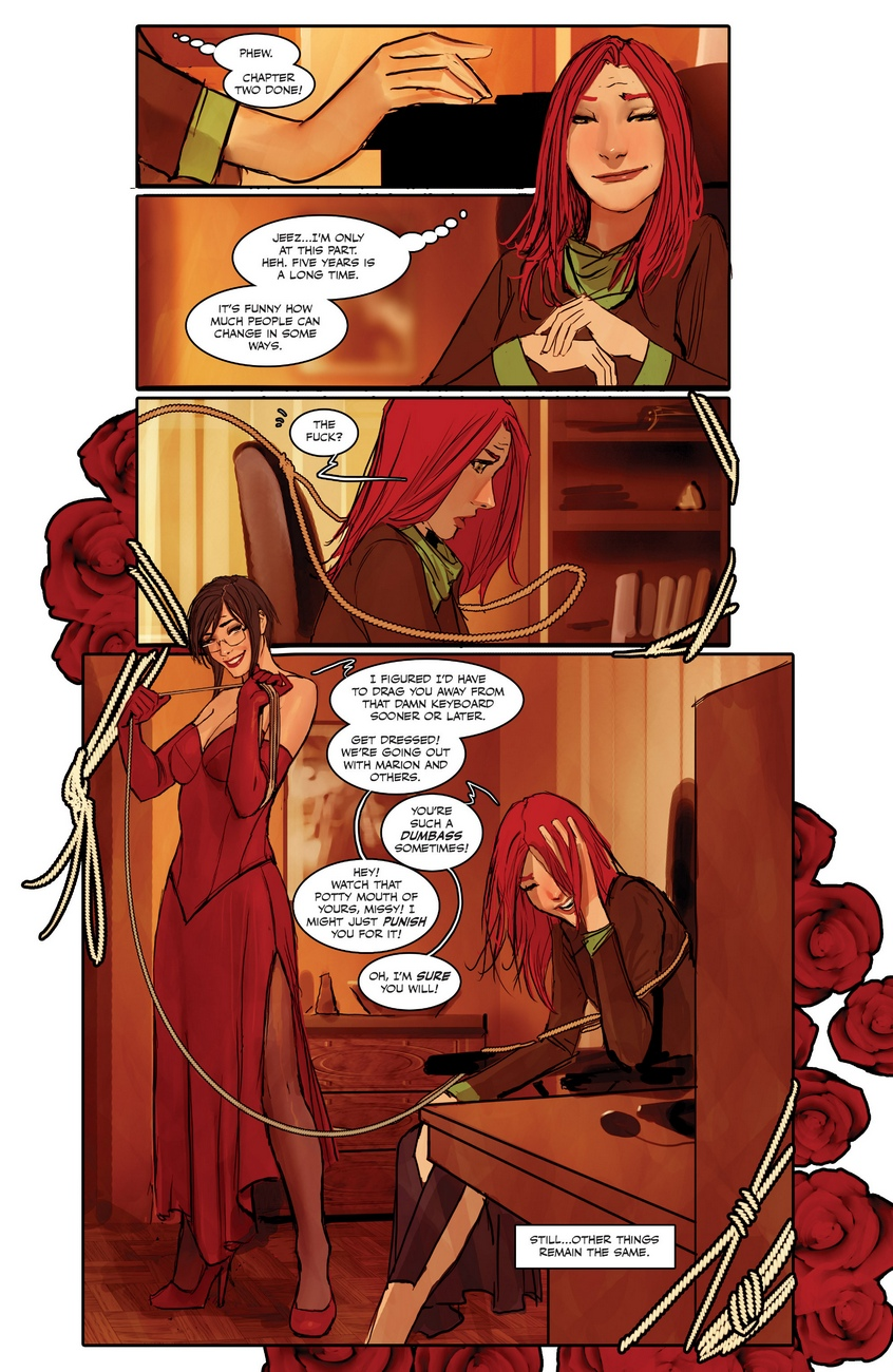 Sunstone 2 comic porn