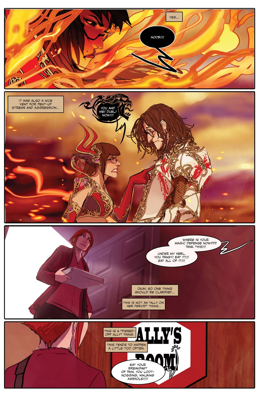 Sunstone-4 52 free sex comic