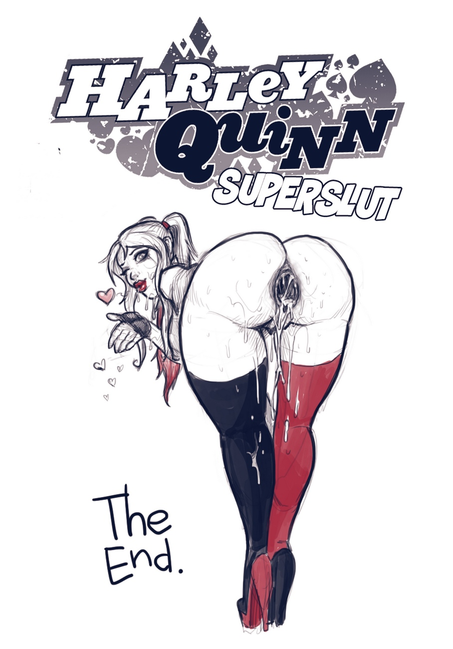 Superslut – Harley Quinn comic porn