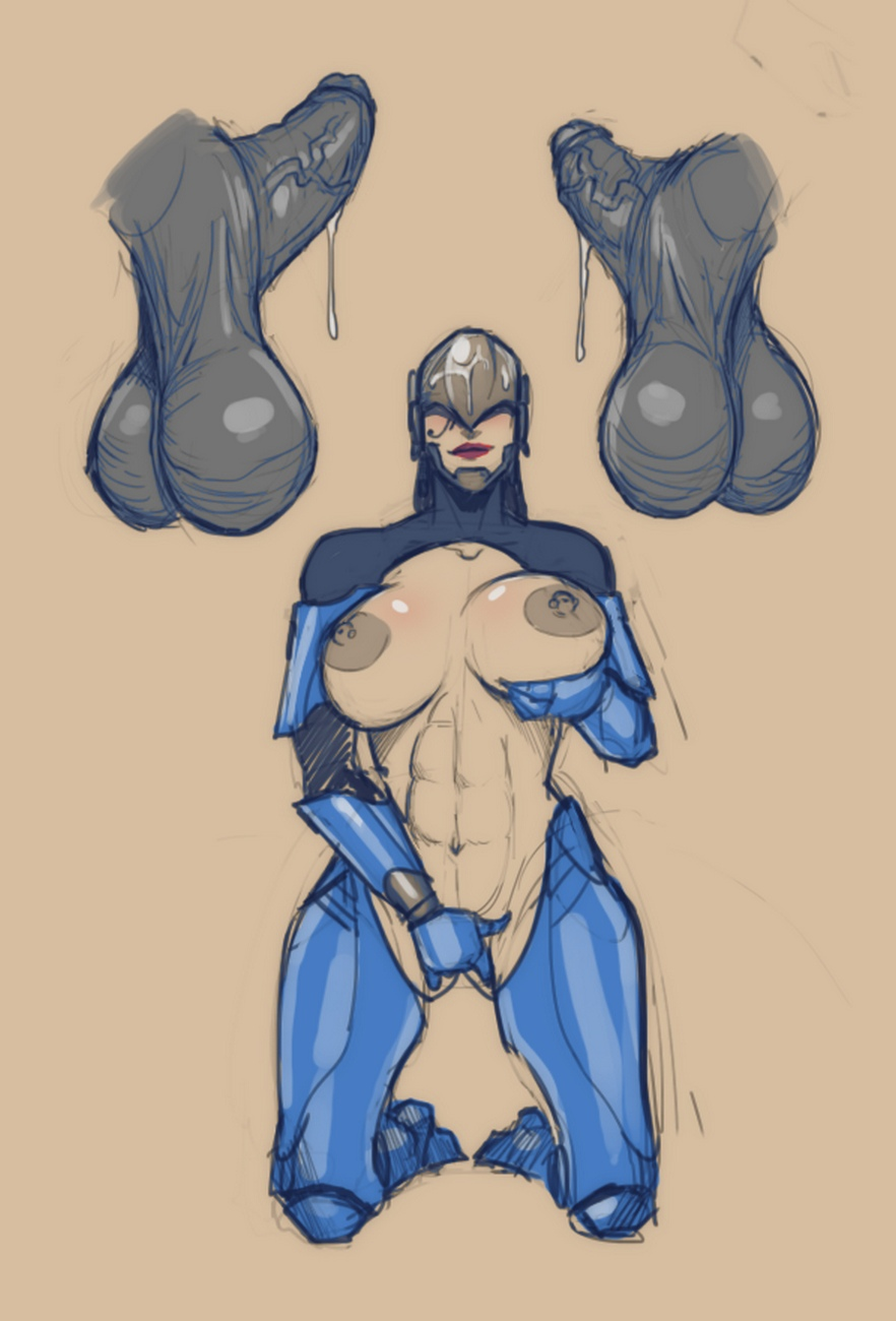 Superslut-Pharah 12 free sex comic