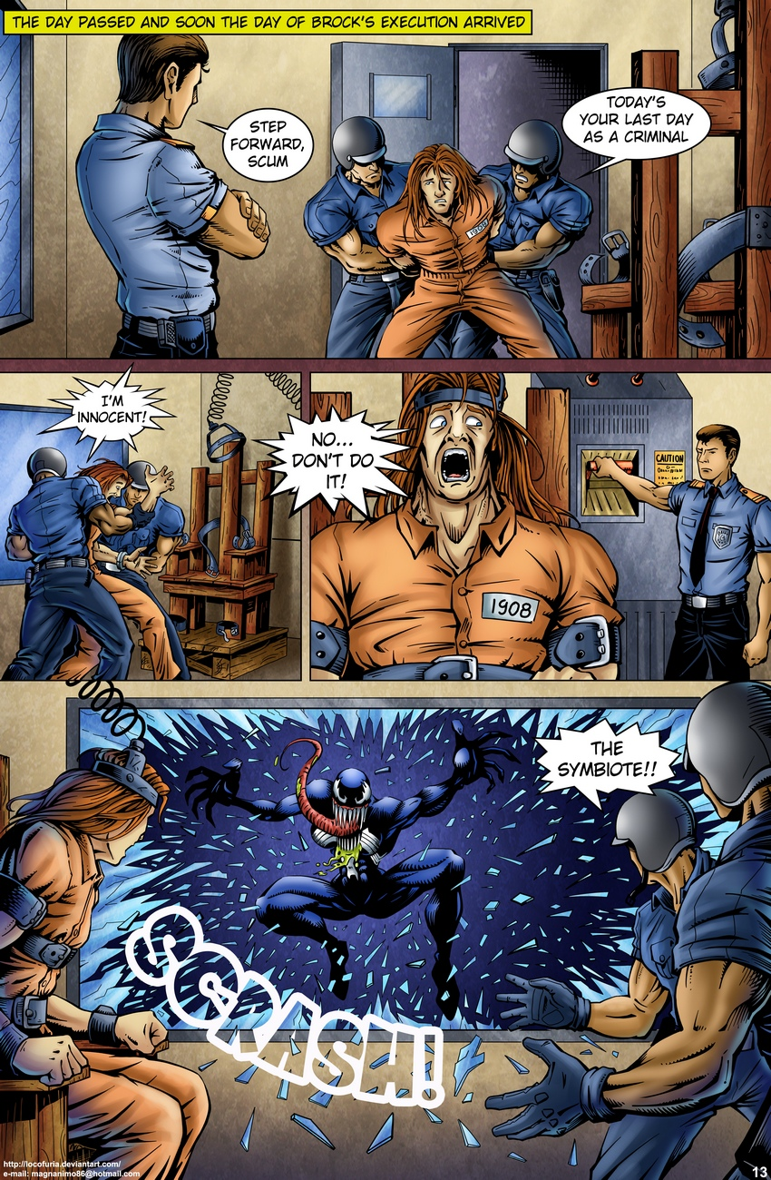 Symbiote-1 14 free sex comic