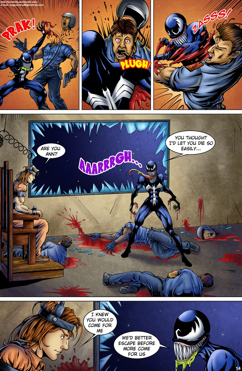 Symbiote-1 15 free sex comic